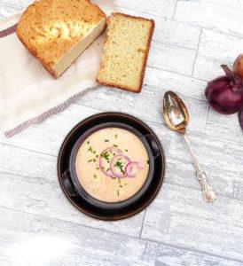 Creamy Five Onion Soup