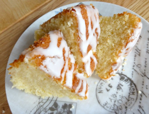 Lime Pound Cake with Lime Drizzle