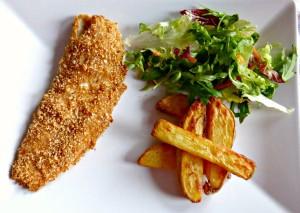 Paprika Breaded Fish