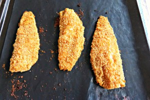 Paprika Breaded Fish