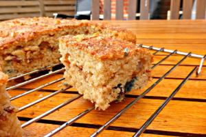Blueberry and Creme Fraiche Cake