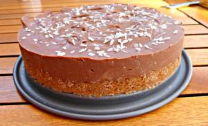Lighter Chocolate Cheesecake