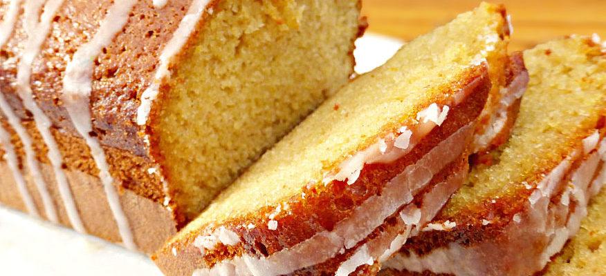 Super Soft Tangy Orange Drizzle Cake