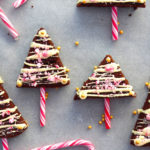 Gluten Free Brownie Christmas Trees