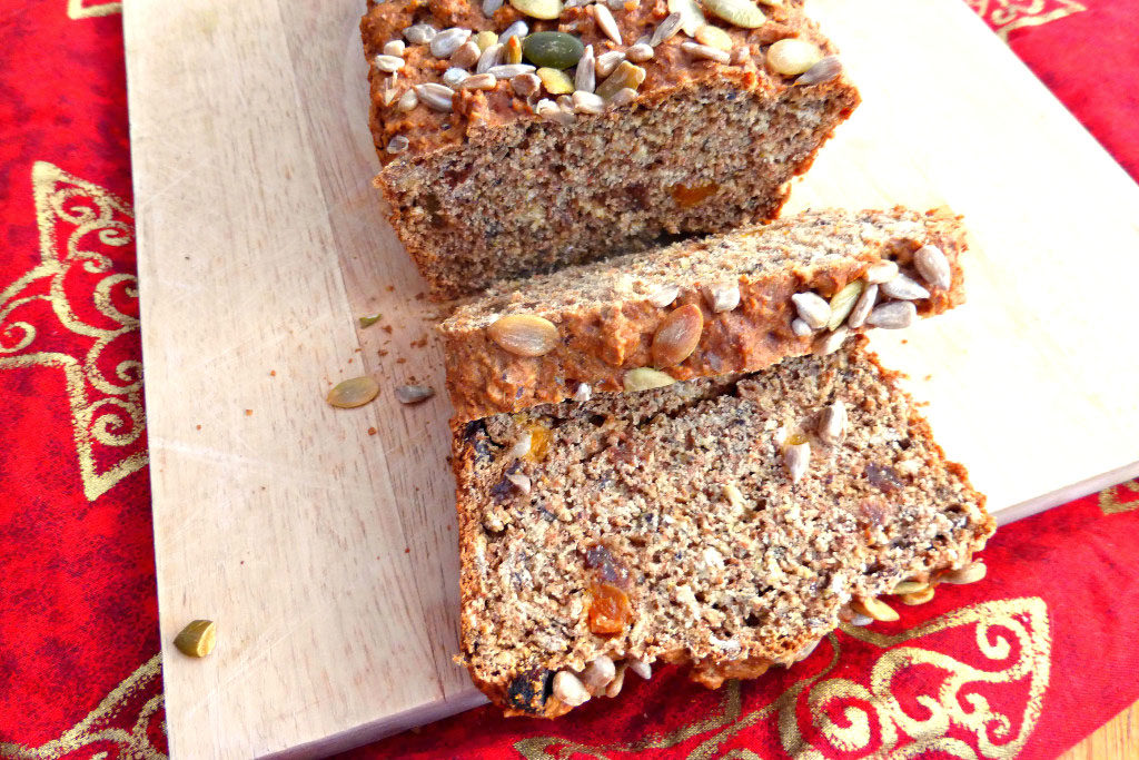 Swedish Spiced Seeded Spelt Loaf