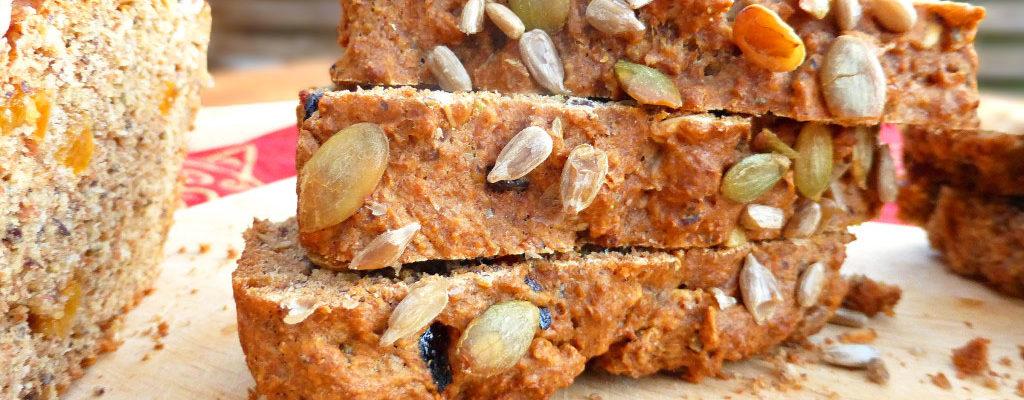 Swedish Spiced Seeded Spelt Loaf