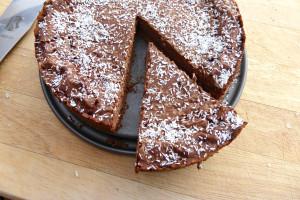 Mocha and Coconut Pie