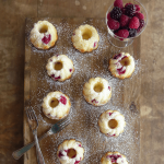 Lemon and Vanilla Mini Bundts with Mixed Berries