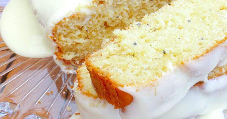 Lighter Gluten Free Pineapple and Chia Cake