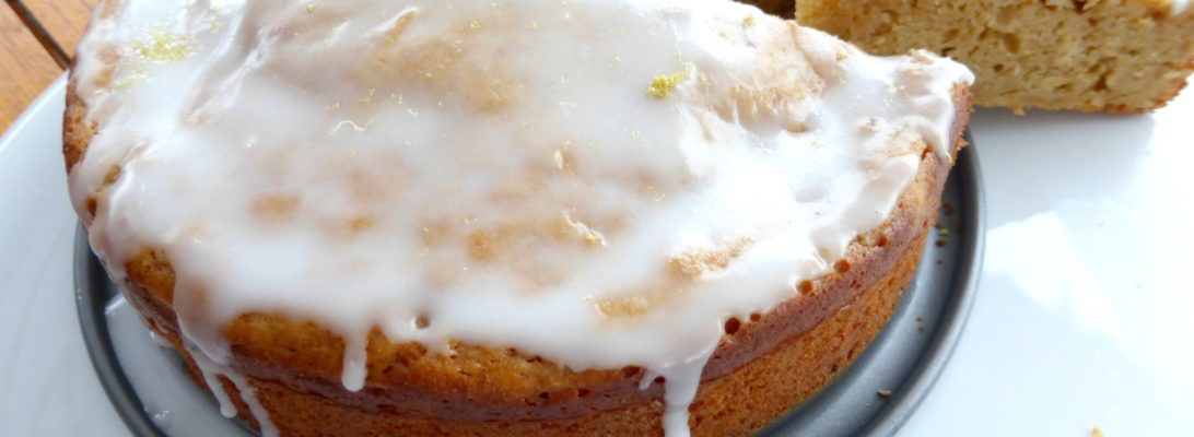 Grapefruit and Coconut Sugar Yoghurt Cake