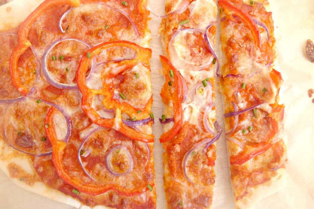 Gluten free pizzas (completely from scratch)4