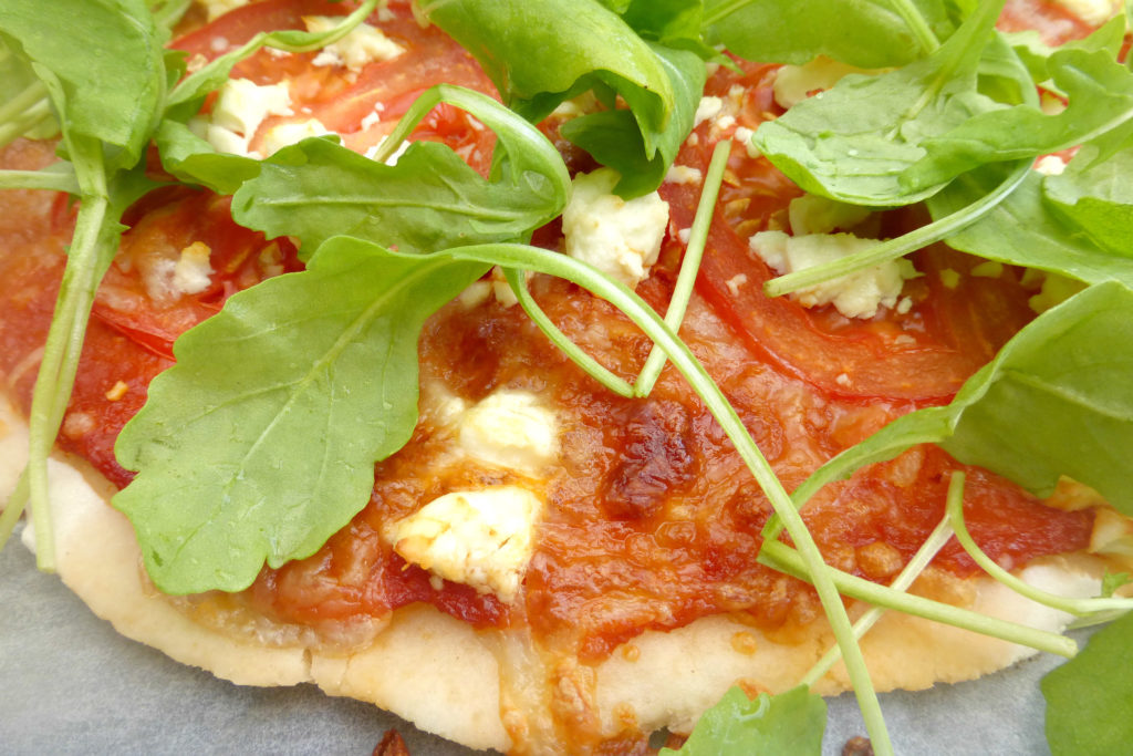 Gluten free pizzas (completely from scratch)5