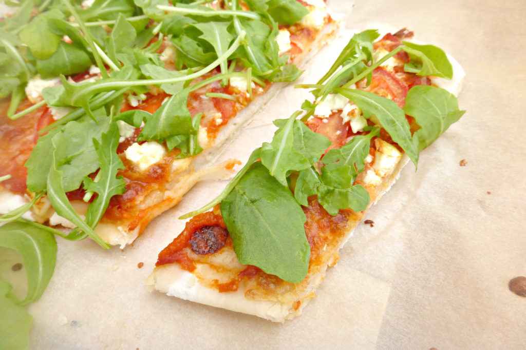 Gluten free pizzas (completely from scratch)7