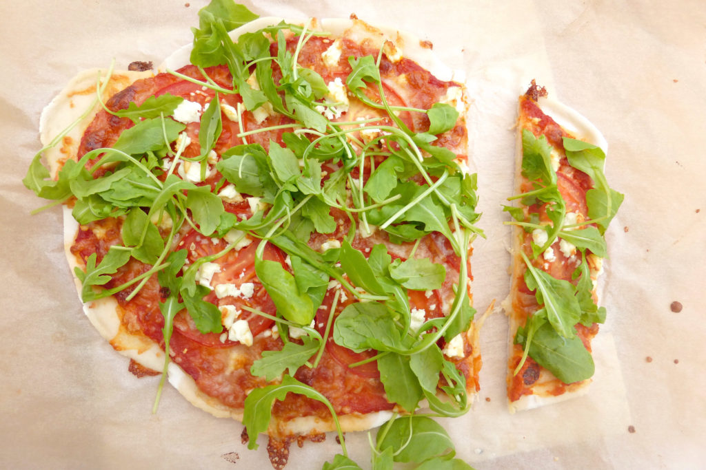 Gluten free pizzas (completely from scratch)8
