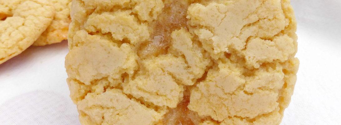 Marshmallow Crinkle Cookies