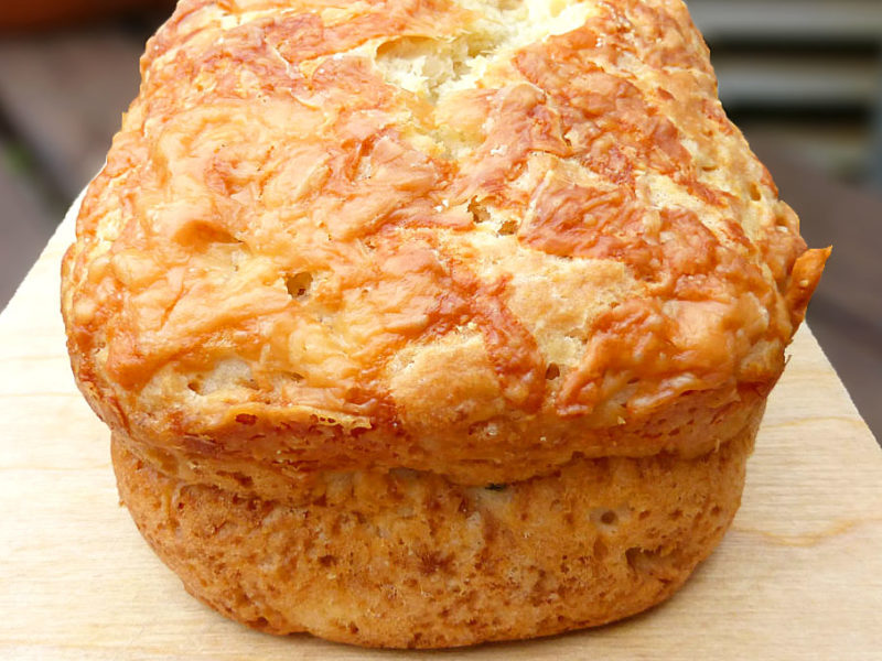 Feta and Chive Savoury Quick Bread