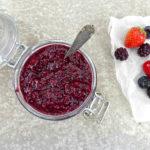 Berry, Lemon and Chia Homemade Jam