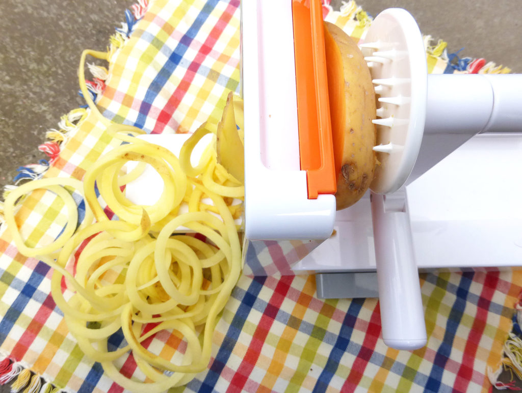 Spiralize Me: An OXO Spiralizer Review