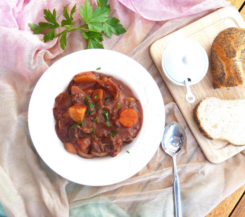 Beef and Tomato Crockpot Stew