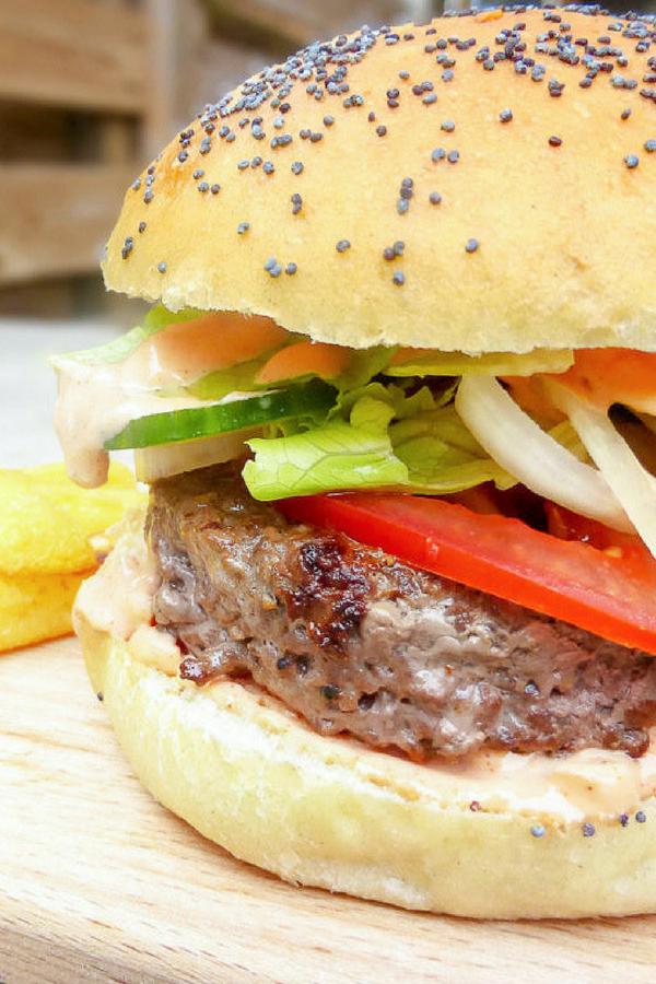 The Juiciest Homemade Burgers From Scratch (even the bun)