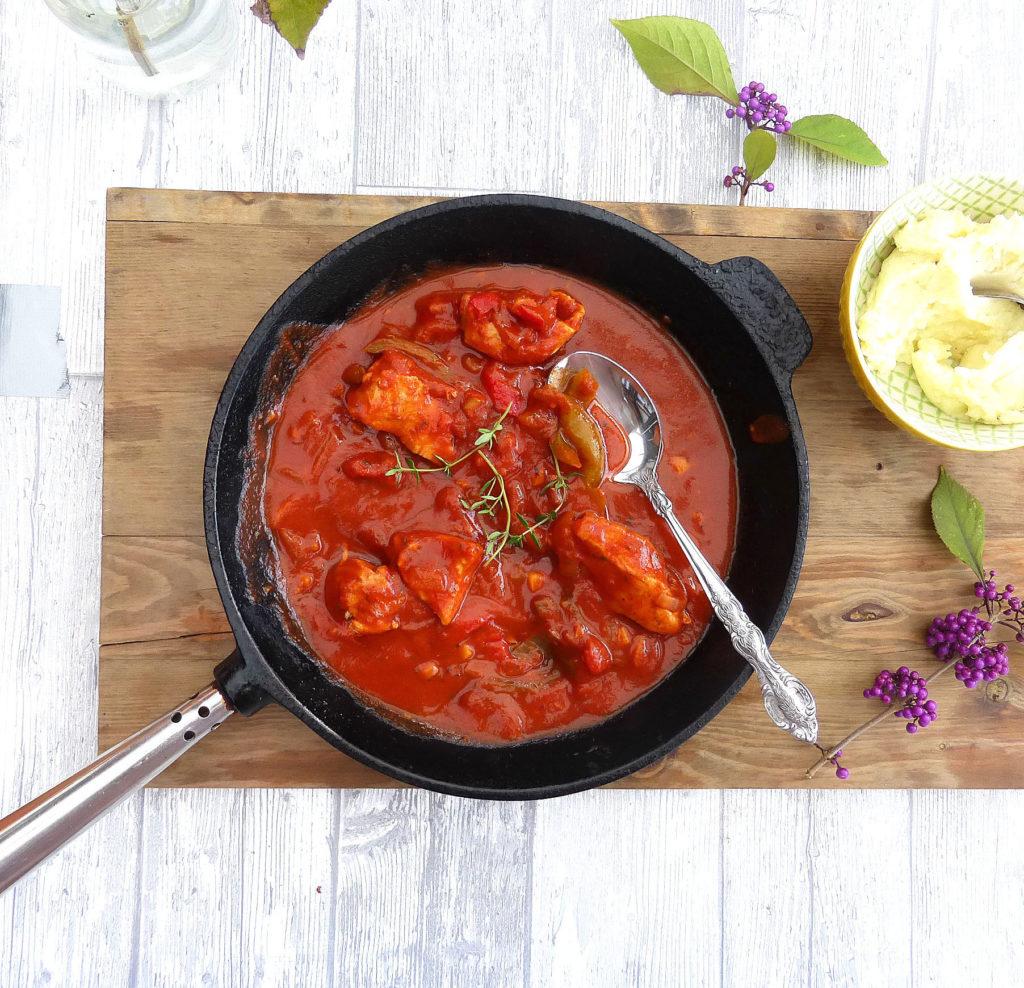 Spanish Style Smoked Paprika Chicken Stew