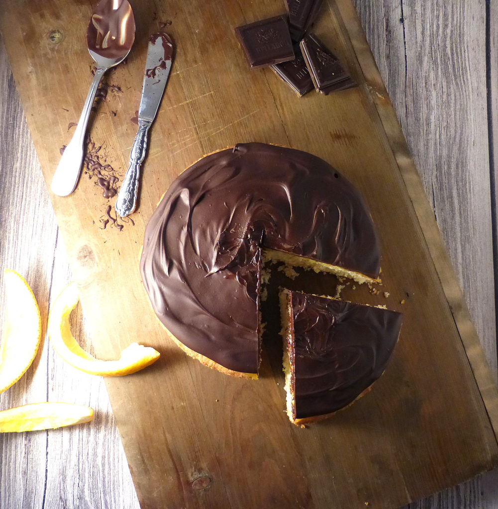 The Legendary Jaffa Cake (but this time, it really is a cake)