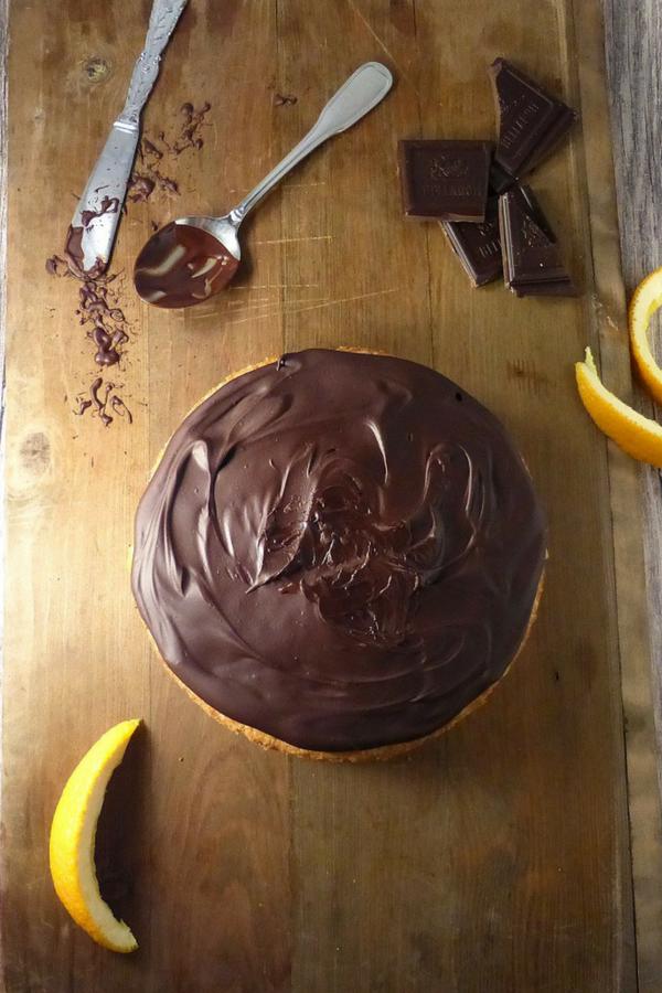 Jaffa Cake Sponge (Chocolate Orange Cake)
