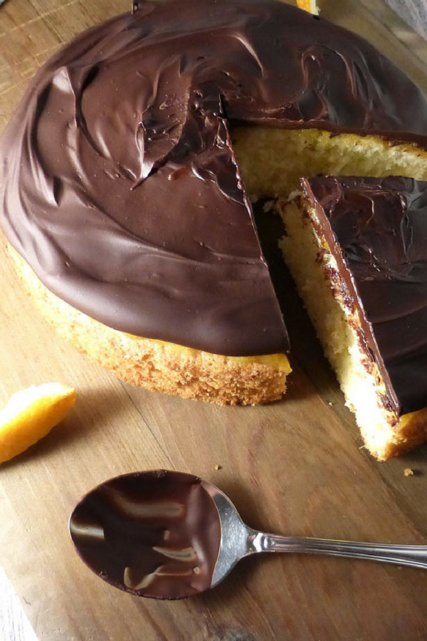 Jaffa Cake Sponge (Chocolate Orange Cake)