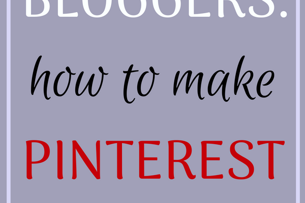 Food Bloggers: How to Make Pinterest Work for You (Part One)
