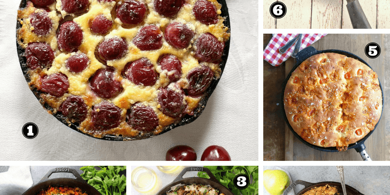 18 Stunning Cast Iron Skillet Recipes (sweet & savoury)