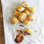 Engelska Sausage Rolls (Kycklingfärs i Smördeg)