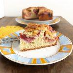 Rachel Khoo's Swedish Plum Tosca Cake (toscakaka)