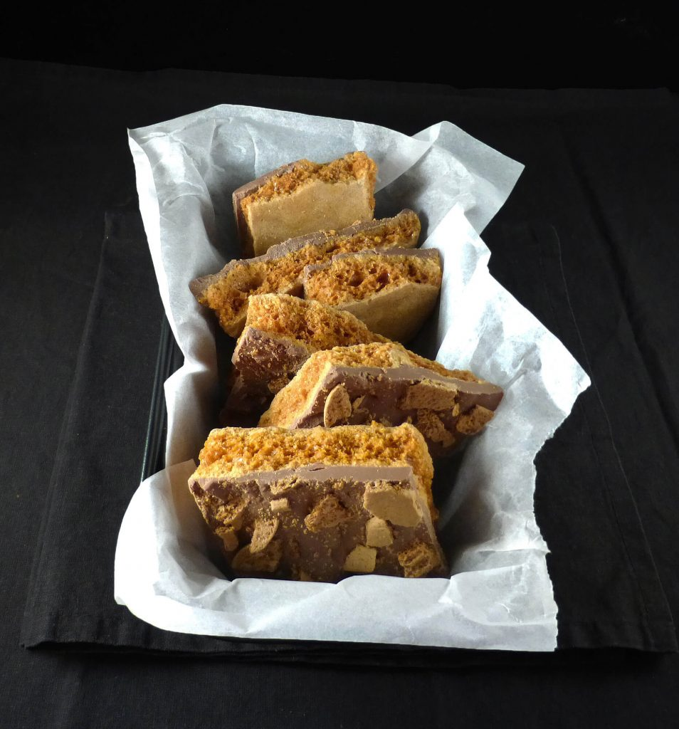 Gingerbread Chocolate Honeycomb
