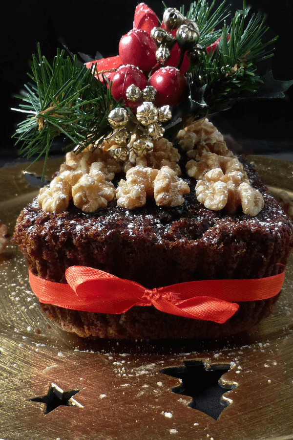 Simple Last Minute Christmas Fruit Cake